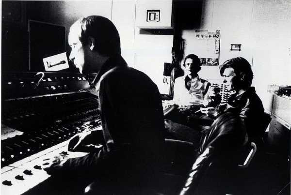 Дэвид Боуи в студии