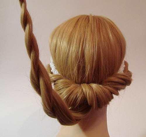 Греческая причёска своими руками на выпускной из длинных волос