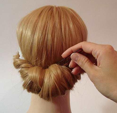 Греческая причёска своими руками на выпускной