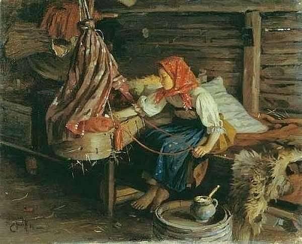 Колыбель. История детской люльки