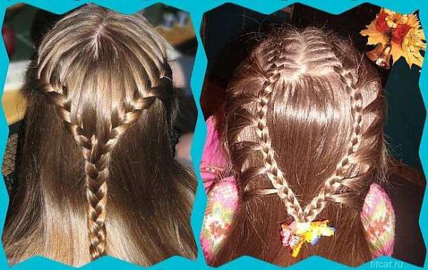 причёски на 1 сентября для девочек