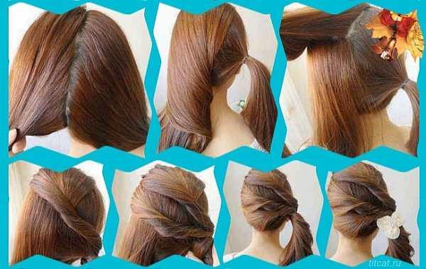 1 сентября причёска для девушки