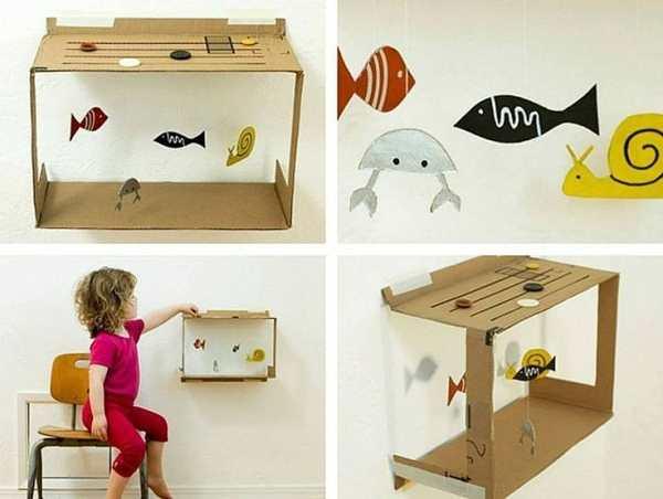 Как сделать из картона коробку для игрушек