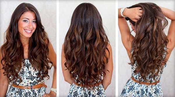 Как сделать стильную причёску из волос пляжные локоны в домашних условиях