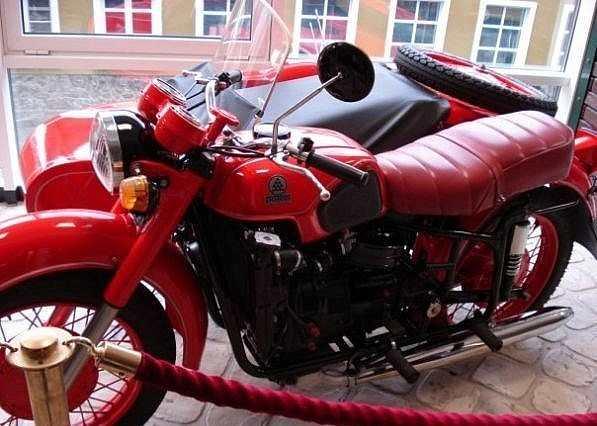 Советский мотоцикл с мотором РД-501