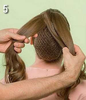 Плетение объемной косы