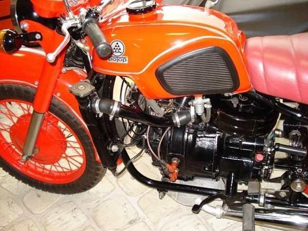 Советские мотоциклы. Мотор РД-510